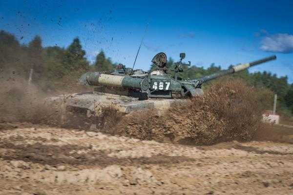 Тест-драйв танка Т-80У с газотурбинным двигателем. Тихий гигант