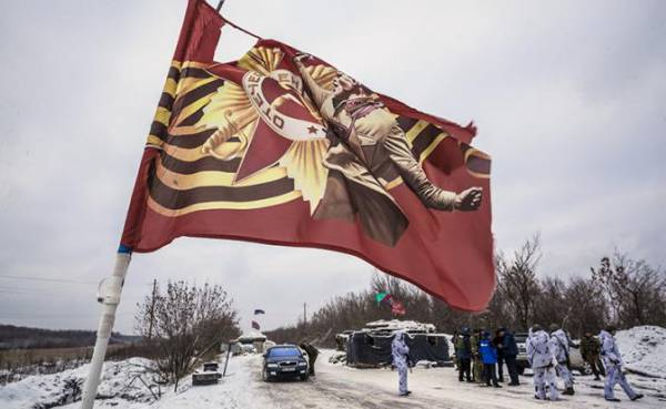 Ситуация на линии разграничения в Донбассе