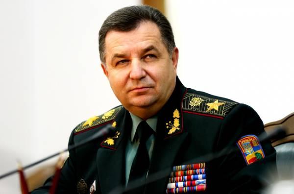 Полторак признал, что спасти украинскую армию могут только советские офицеры