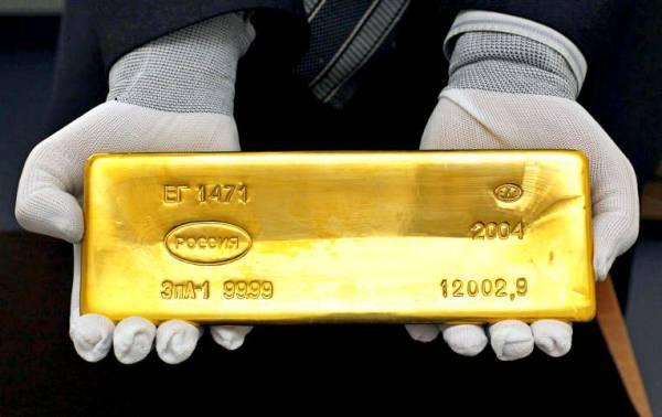 Россияне смогут заработать на золоте