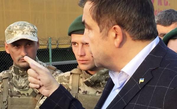 На фото: экс-глава Одесской области и бывший президент Грузии Михаил Саакашвили
