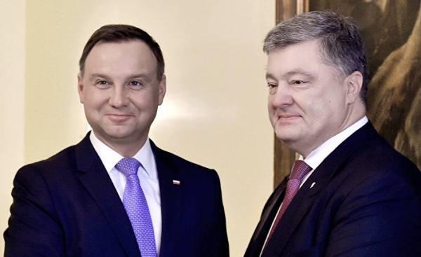 Встреча президентов Украины и Польши П.Порошенко и Анджей Дуда в Мюнхене