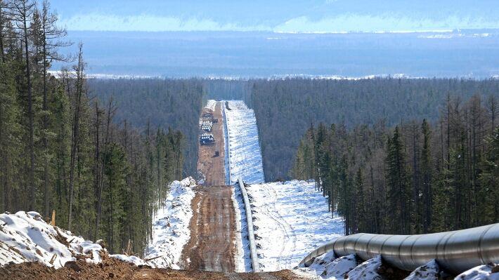 «Сила Сибири» пока не вышла на проектную мощность